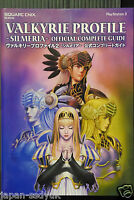 JAPAN Valkyrie Profile 2 Silmeria Official Complete Guide (Book)