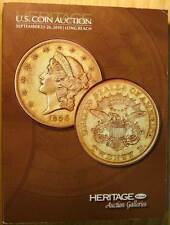 Heritage Galleries September 23-26 2010 Long Beach US Coin Auction Catalog #1144