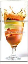 Sticker frigo électroménager déco cuisine Fruits 70x170cm réf 572