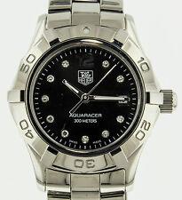 Tag Heuer Aquaracer Diamond Ladies Watch WAF141C.BA0824 Date Analog,Sport Modern