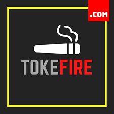TokeFire.com - 2 Word Domain - Short Domain Name - Marijuana Name .COM Dynadot