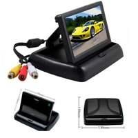"4.3"" Foldable TFT LCD HD Screen Monitor for Car Rear View Reverse Backup Camera"