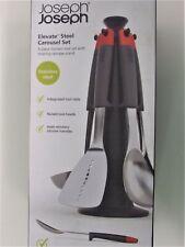 Joseph Joseph Elevate Steel 5-piece Carousel Kitchen Tool  Set w/Rotating Stand