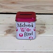 Midweek Wine Fund Money Tin - The Bright Side