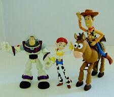 Disney Toy Story Bullseye, Woody, Jess & Buzz Figures Bundle