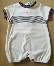 Beautiful baby boys spanish/romany romper/playsuit by sardon 3months.
