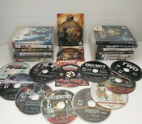 25 PS3 PlayStation 3 Game lot Games Tested and Working Sports Action Adventure