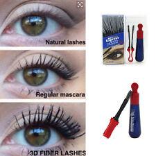 3D Fiber Waterproof Black Mascara Eyelash Long Volume Curling Lashes Extension
