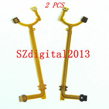 2PCS/ LENS Aperture Shutter Flex Cable For Canon IXUS310 HS ELPH 500 HS IXY 31S