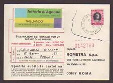 3191) Repubblica 1979 CP Affrancatura con Marca da Bollo