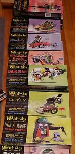 2006 Hawk Model Co. Weird-Ohs ™ Car-Icky-Tures Customizable Models SEALED (NOS)