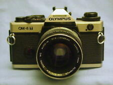 OLYMPUS OM-4T CHROME CAMERA BODY + ZUIKO 35mm F2 LENS