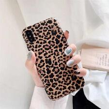 Diseño Leopardo Estampado Goma Suave Funda Para IPHONE 11 Pro XS Max 6 7 8 Plus