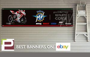 MV Agusta F3RC Reparto Corse Banner for Workshop, Garage, Office, Pit Lane etc