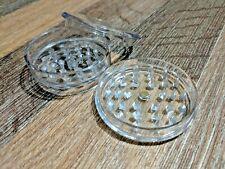 No.1 Magnetic 60mm 3-Part Grinder Plastic Herb Shark Teeth Tobacco Storage Black