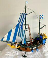 *COMPLETE* 1989 PIRATE LEGO SET 6274 CARIBBEAN CLIPPER - VERY CLEAN