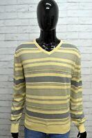 Maglione Uomo MARLBORO CLASSICS Taglia XL Cardigan Grigio Pullover Sweater