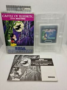 CASTLE OF ILLUSION STARRING MICKEY MOUSE - SEGA Game Gear - PAL EUR
