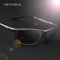 Aluminium Polarized Sunglasses Mens Retro Outdoor Driving Fishing Eyewear UV400