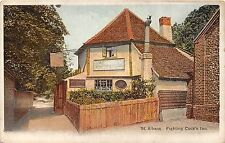 POSTCARD    HERTS   ST  ALBANS   Fighting  Cock's  Inn