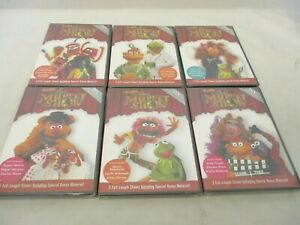 Lot 6 DVD The Muppet Show 25th Anniversary New Sealed # 1, 3, 5, 8, 10, 13