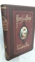The Homes of The Birds or Nests & Their Builders by Grandfather Percy 1874 1st