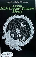 Crochet  A Simple Irish Crochet Sampler Doily  Pattern  Annie Potter