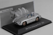 MERCEDES-BENZ 300 slr w196s 1955 argent silver 1:43 IXO ALTAYA COLLECTION