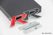 B208 RR 3D Kühlergrill vorn Emblem Badge car Sticker Frontgrill