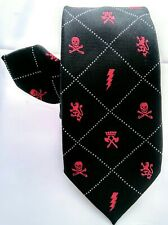 3f9b2ee6ce7a Old Navy Boys Neck Tie Black White Red 45