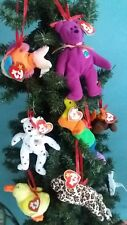 New with tag 5 Ty McDonalds Teenie Beanie Baby Easter Tree Ornaments