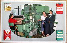 1960 Cigarette Advertising Postcard: Camel/Winston/Salem/Cavalier
