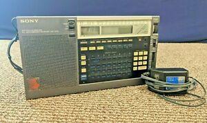 Sony ICF-2010 PLL Synthesized Receiver AIR FM LW MW SW Portable World Radio