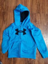 Under Armour Boys Jacket Size 4t Blue Black