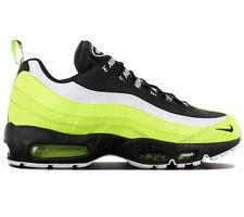 Nike Air Max 95 Premium Herren Sneaker 538416-701 Black-Volt Schuhe Turnschuhe