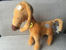 Rugrats Spike Dog Plush Stuffed Toy NWT Poseable Ears Tail