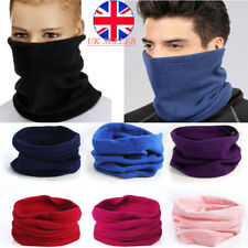 for Men Women Chidren Thermal Polar Fleece Snood Neck Warmer Scarf Warm Winter