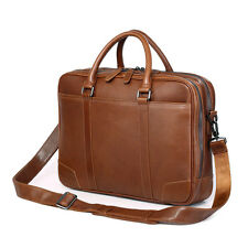 """Leather briefcase-Laptop bags-Business bags-commuter bags-15"""""""