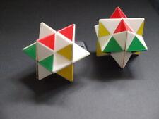 1970s Juguete Rara Shinsei misterio Cube Rompecabezas Naoki exigió par cubangolo Rubik