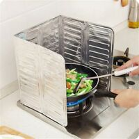 Kitchen Oil Splash Cover 84*32.5cm Aluminum Foil Screen Anti Splatter Guard