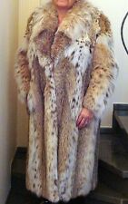 Authentic Luxury Lynx Fur Coat