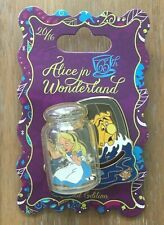 Alice in Wonderland Disney Pin Limited edition Movable Alice in Bottle 2016