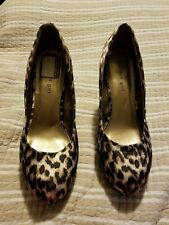 Madden Girl Expose Leopard Wedge Heels