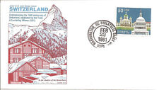 SWITZERLAND - 2532  FDC - GAMM CACHET - 1991