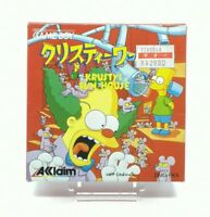 Nintendo - Gameboy - Krusty's fun house - Box complete - JAPAN - Grade A+