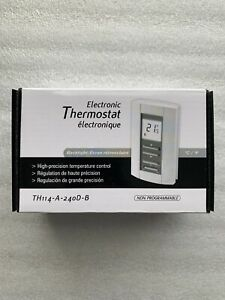 TH114-A-240D-B Honeywell Aube Electronic Thermostat Non-Programmable BRAND NEW!