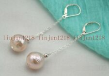 New Natural 11-13mm White South Sea Pearl Earring