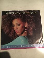 45 rpm record Whitney Houston -Greatest Love Of All
