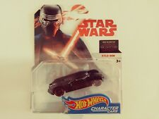 2017-Hot Wheels-Star Wars The Last Jedi-Character Cars Kylo Ren-1:64-3+