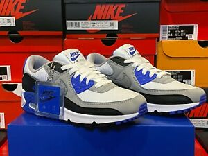 Nike Air Max 90 OG Recraft Royal Blue CD0881-102 Running Sneakers  *Double Boxed